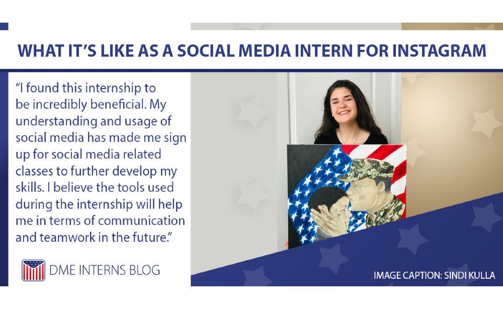 Sindi Kulla: I found this internship to be incredibly beneficial. My understanding and usage of social media has made me sign up for social media related classes to further develop my skills. I believe the tools used during the internship will help me in terms of communication and team work in the future.