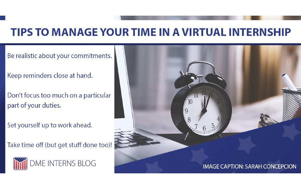 How to Manage Your Time in a Virtual Internship