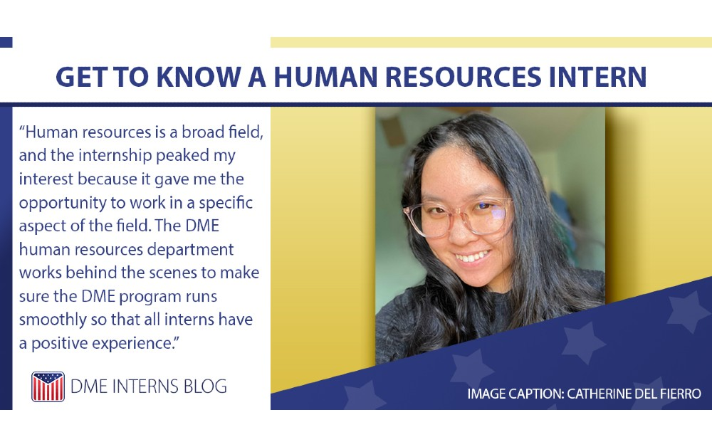 Get to Know a Human Resources Intern