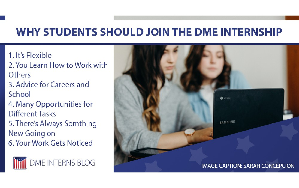 Why Students Should Join the DME Internship
